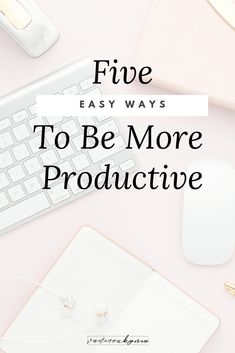 In this post, I'll share 5 things that you can start doing today to boost your productivity and see your time-management skills skyrocket! Productivity Hacks, Increase Productivity, Time Management Skills, Business Advice, Online Business, Business Coaching, Motivation, 5 Things, Simple Things