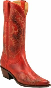 Love these Red Boots but they need to be a bit scruffed up. They're too polished-perfect right now.