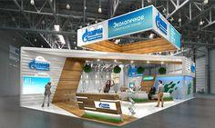 Gazprom oil on Behance