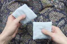 sensorial cotton bags, montessori home materials for infants and toddlers