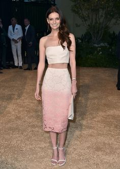 Lydia Hearst in Burberry