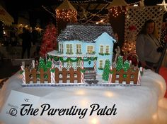 Festival of Trees Gingerbread Houses (Day 19 of 25 Days of Christmas) | Parenting Patch