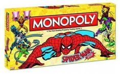 Spider-Man, Monopoly, Collector's Edition
