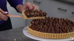 No bake Toblerone tart http://youtu.be/EsfGW2iFgmI