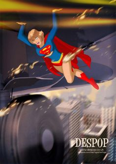 Young Kara in action by *DESPOP on deviantART