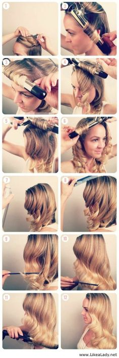 Easy Christmas Hairstyle Tutorials