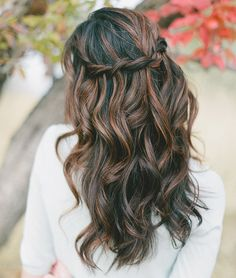 ... best half up half down wedding hairstyles