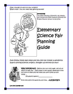 Heres a science fair project journal for students science fair heres an elementary science fair guide for kids fandeluxe Gallery