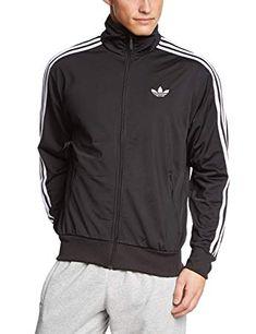 adidas Men s Adi Firebird Track Jacket  adidas  sport  jacket  black  white 6816c71ec9e51