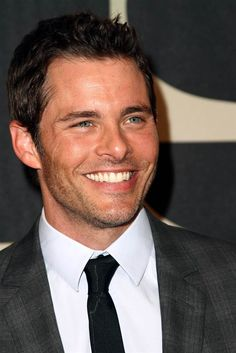 "James Marsden   ""I know I have a face like a model, but I'm actually just a goofy drama nerd underneath."""