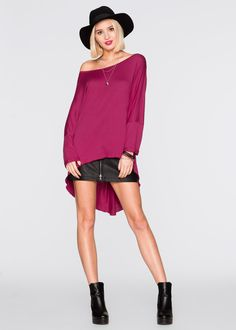 Commandez maintenant T-shirt oversize betterave à partir de 12,99 ? sur bonprix.fr. Plus long dans le dos.