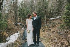alexia + stephen | Harlow Gown from BHLDN | via: sun + life photography