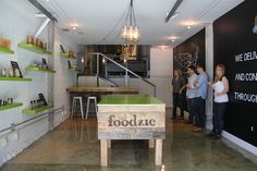 Nick & Beau designed a pop-up retail space for Foodzie in SoMA