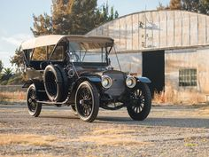 1911 Lozier Model 51 Seven-Passenger Touring | Arizona 2016 | RM Sotheby's