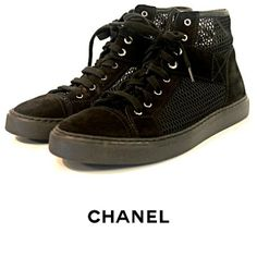 Grab these Chanel mesh sneakers and celebrate the last few days of Summer! To purchase, call (615) 732-3547. We ship! Featured items: Chanel shoes (7.5) $598 - #nashville #consignment #flipnashville #chanel #chanelshoes