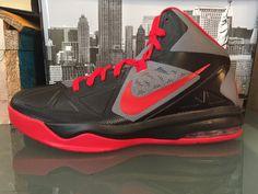 6063cc27e6f Nib nike air max body u basketball shoes size 11.5 599350 005