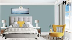 Final Visualisation. Room Design Package: Classic, Room: Bedroom, Style: Contemporary, Budget: £2000 Designer: Charlie T