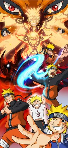 Evolution of Naruto Uzumaki - Gotta love Naruto!!!