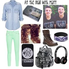 At the mall with Matt by madyd on Polyvore featuring polyvore fashion style maurices French Connection Steve Madden Aéropostale Tiffany & Co. Beats by Dr. Dre @magcon_fan124