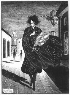 Sandman, by Neil Gaiman Art by Alcatena