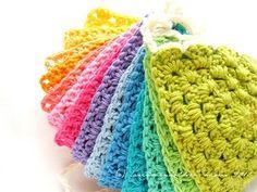 Crochet bunting + tutorial
