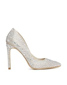 Image 1 of Karen Millen Crystal Encrusted Heeled Shoes