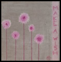 Make a wish – Mixed media