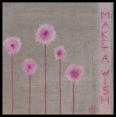 Make a wish – Mixed media