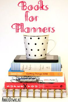 Check out this list of books that are perfect for planners and people into betting themselves and organization. Learn about your habits, how to make the most of your time, and how to pick only the most important tasks to focus on. AmberDowns.net