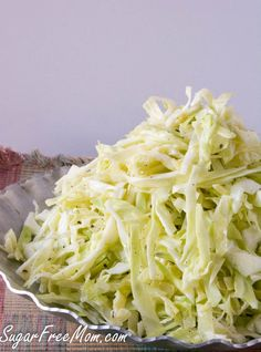 Simple Zesty Italian Style Coleslaw for those of us who aren't mayo fans!