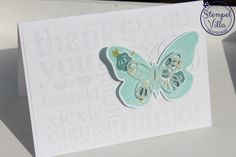 Stampin'Up! Floral Wings, A World of Thanks
