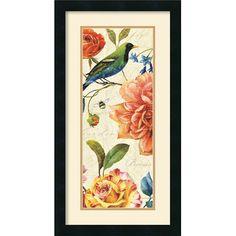 Amanti Art 'Rainbow Garden VI Cream' by Lisa Audit Framed Painting Print