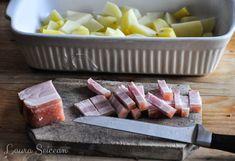 Cartofi la cuptor cu bacon și ceapă - rețetă rapidă Bacon, Drinks, Food, Drinking, Beverages, Essen, Drink, Meals, Yemek