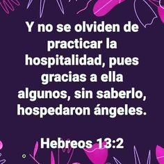#DeberesCristianos  #APonerEnPráctica *Gn 18:1-8; 19:1-3