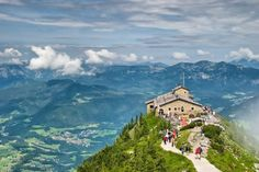 Eagle's Nest - atop Kehlstein Mountain in Obersalzburg, Germany.  Spectacular views of Germany, Austria, Switzerland and Italy.