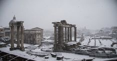 La magia di Roma sotto la neve fa il giro del mondo: 10 immagini per raccontarla