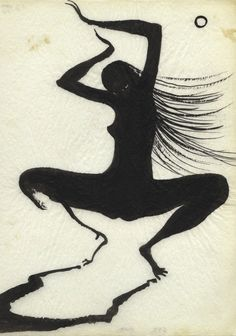 Marjorie Cameron (1922-1995), illustration from Songs for the Witch Woman