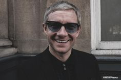 """{""""Great to catch up with my old friend"""" Soho, London September 2015#fujifilm#x100t#martinfreeman}"""