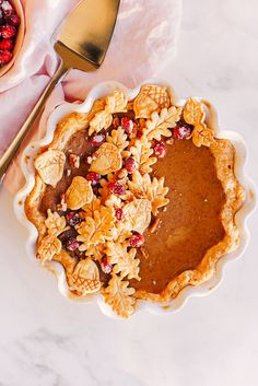 We hope you saved room for dessert! What delicious dish is your family's Thanksgiving finale? This Maple Pumpkin Pie made by Low Carb Pumpkin Pie, Easy Pumpkin Pie, Homemade Pumpkin Pie, Pumpkin Pie Recipes, Pumpkin Dessert, Pumpkin Maple Pie Recipe, Vegan Pumpkin Pie, Canned Pumpkin, Sweets