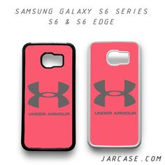 Under Armour Pink Phone case for samsung galaxy S6 & S6 EDGE