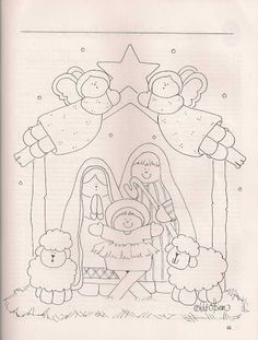 45 New Ideas For Embroidery Christmas Nativity Scenes Christmas Nativity Scene, Christmas Art, Nativity Scenes, Christmas Holidays, Etsy Embroidery, Embroidery Fashion, Embroidery Patches, Embroidery Designs, Christmas Patchwork