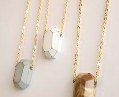 Diamond cut choose your color white brown by KarolinfelixDream, €17,00