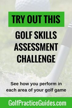 Golf Swing Drills Golf lessons for beginners. (Golf, golf tips, golf practice drills, golf course, golf equipment) - Test your golf skills with our skill assessment challenge. Complete these golf drills and see where you're weak and where you're strong. Golf Chipping Tips, Golf Putting Tips, Golf Practice, Golf Videos, Best Golf Courses, Golf Instruction, Golf Tips For Beginners, Golf Exercises, Golf Training
