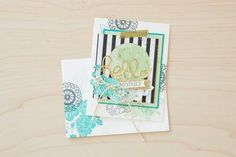Loving this incredible card made with the Hello Darling stamp set!