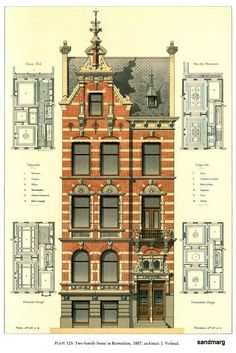 Two family home — Rotterdam 1887