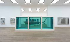 "In 2004, ""The Physical Impossibility of Death in the Mind of Someone Living"" -- an artwork consisting of a tiger shark preserved in formaldehyde inside a vitrine -- by artist Damien Hirst was reportedly sold to hedge fund manager Steven A. Cohen for a rumored figure of $8 million (though others have suggested $12 million). The taxidermy shark was initially preserved poorly and had to be replaced in 2007."