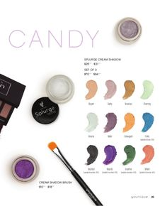 I ABSOLUTELY love the Splurge Cream Shadows!!! They go on so smooth, takes very little product and lasts ALL DAY without creasing!!!! What is your favorite color?