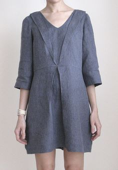 The Silas Dress in Chambray by Vain and Vapid, via Flickr