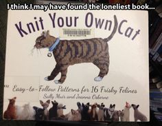 Knit your own cat!