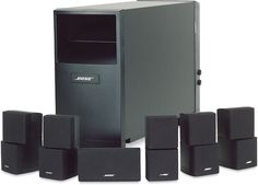 Bose 5.1 Home Entertainment Systems | bose acoustimass 10 speaker system 550x396 Bose Acoustimass 10 Speaker ...
